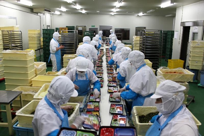 Làm cơm hộp xuất khẩu lao động Nhật Bản