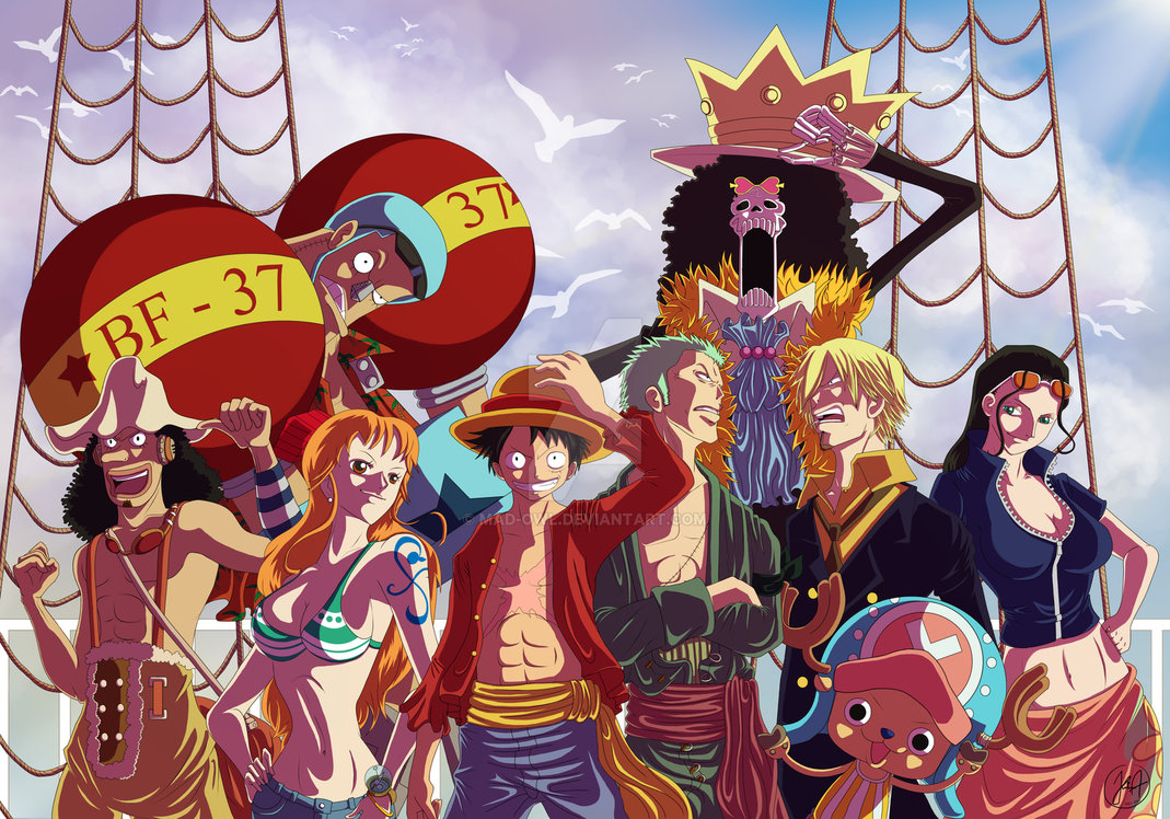 Manga Nhật nổi tiếng với bộ phim One Piece - Đảo Hải Tặc