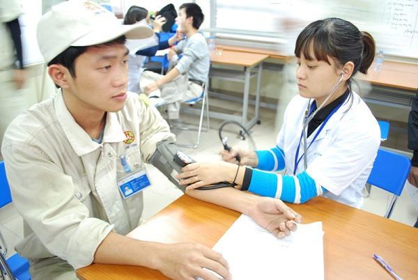 Phí khám sức khỏe đi nước ngoài ở bệnh viện tràng an