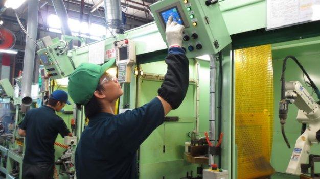 Tuyển gấp 15 nam đơn hàng dập ép kim loại tại Aichi tháng 03/2018