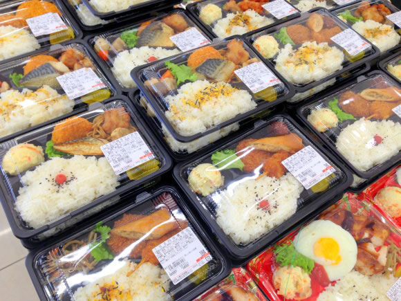 làm cơm hộp tại Nhật Bản