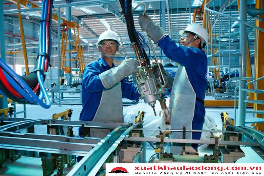 Tổng hợp các đơn hàng cơ khí đi xuất khẩu lao động Nhật Bản năm 2018