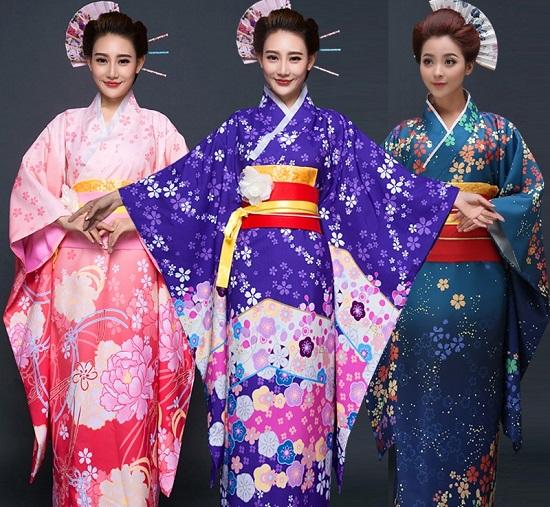 kimono Con người và tính cách người Nhật Bản
