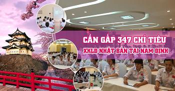 Tuyển 347 lao động đi xuất khẩu Nhật Bản tại tỉnh Nam Định