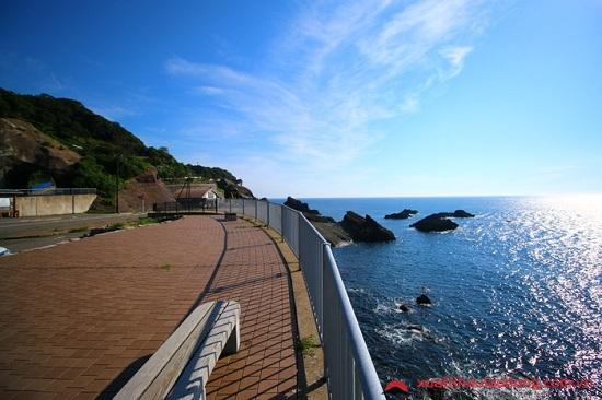 bờ biển Echizen tỉnh Fukui Nhật Bản