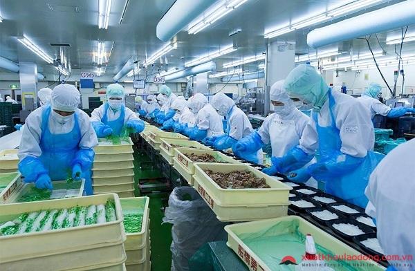 Ngành chế biến thực phẩm - Top ngành nghề lương cao nhất khi đi xklđ Nhật Bản