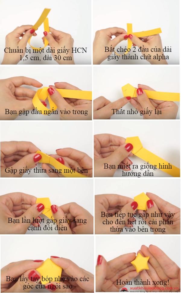 gấp giấy origami nhật bản