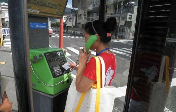 Gọi điện từ Nhật Bản về Việt Nam bằng điện thoại công cộng