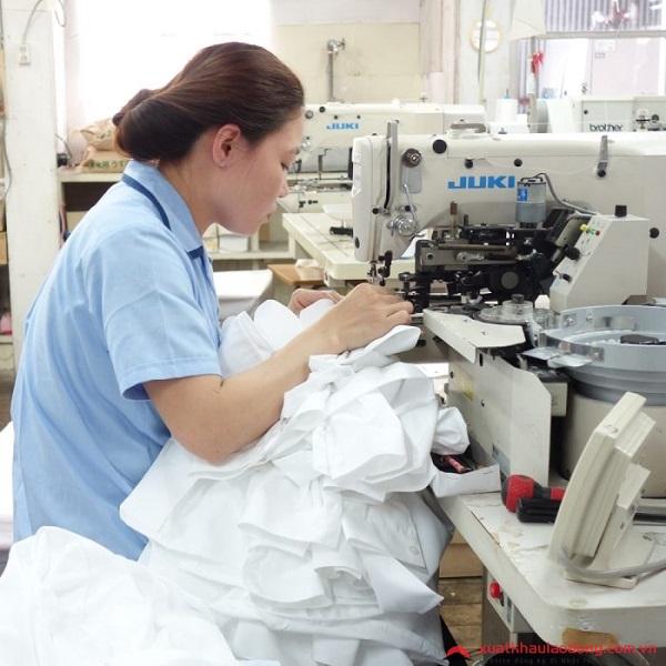 đơn hàng may áo sơ mi tại Nhật Bản