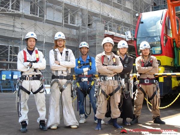 Thực tập sinh đơn hàng xây dựng tại Nhật Bản