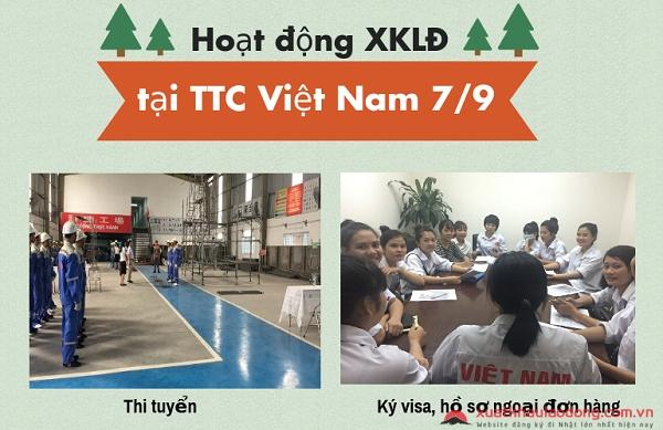 Hoạt động tại TTC Việt Nam