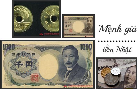Tiền Nhật gọi là gì? Các mệnh giá đồng tiền Nhật Bản hiện nay
