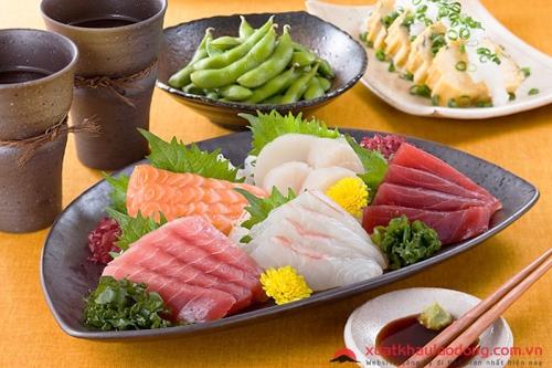 Sashimi –món quà độc đáo từ hải sản tươi sống
