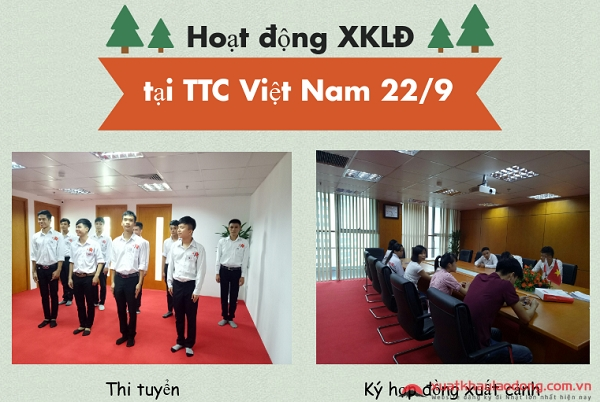 Các hoạt động diễn ra tại TTC Việt Nam ngày 22/09/2017