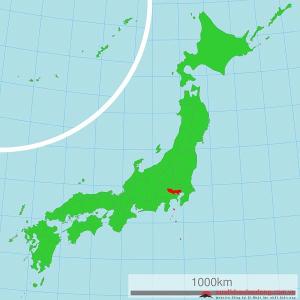vị trí địa lý của nhật bản