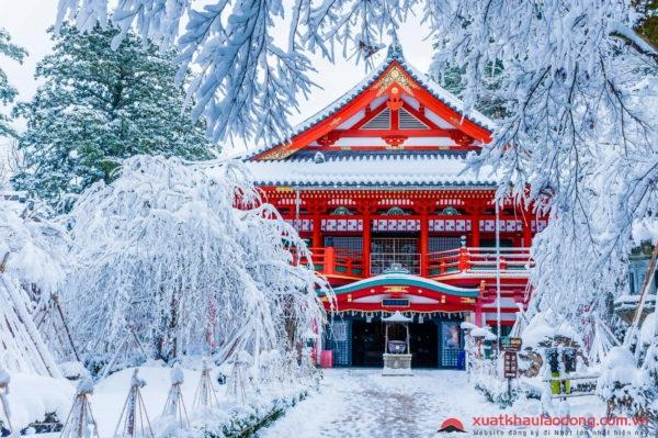 Nhiệt độ ở Nhật Bản vào mùa đông