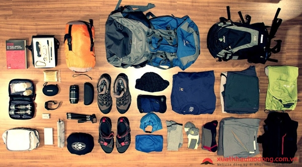 vật dụng cần thiết khi leo núi phú sĩ