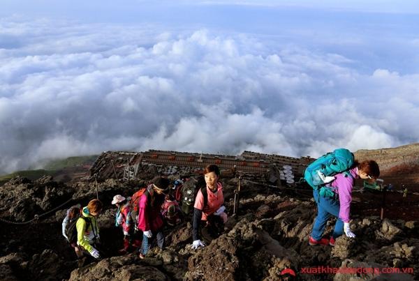 kinh nghiệm leo núi phú sĩ