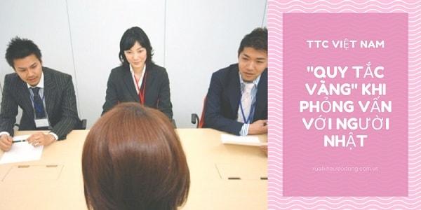 """""""Quy tắc vàng"""" không thể quên khi phỏng vấn với người Nhật"""