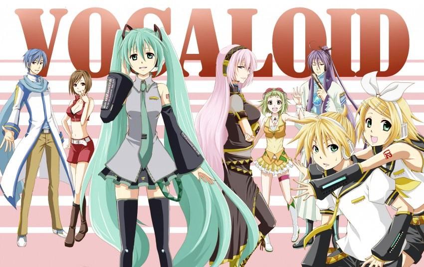 Vocaloid Anime đang được khán giả rất yêu thích