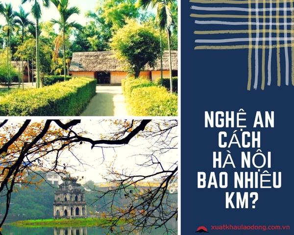 Nghệ An cách Hà Nội bao nhiêu km