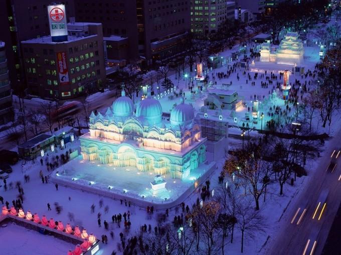 Lễ hội mùa đông tại Sapporo