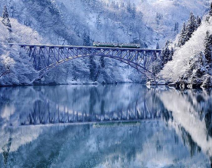 3. Sông Tadami, Aizu, Fukushima