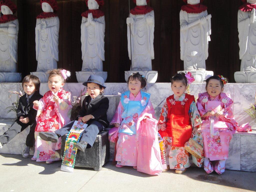 1. Lễ hội Shichi-go-san - Ngày con khôn lớn