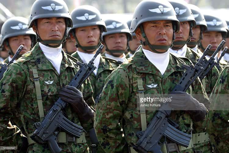 Tại sao Nhật Bản không có quân đội mà quân sự vẫn mạnh?