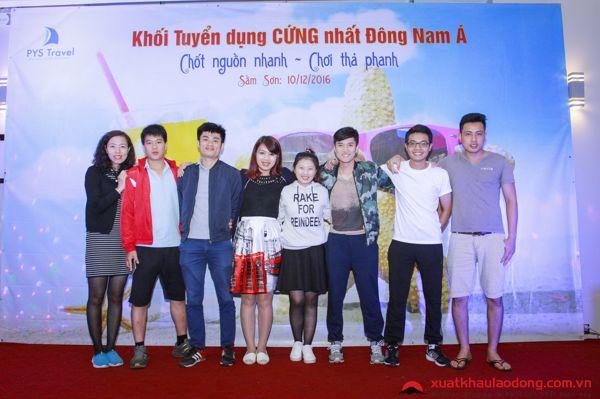 Thành phần cán bộ tư vấn tuyển dụng online tại công ty MD Việt Nam