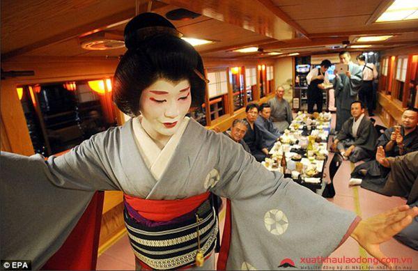 geisha nam duy nhất ở nhật bản
