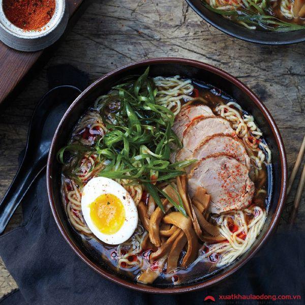 Mì ramen - đậm đà hương vị Nhật