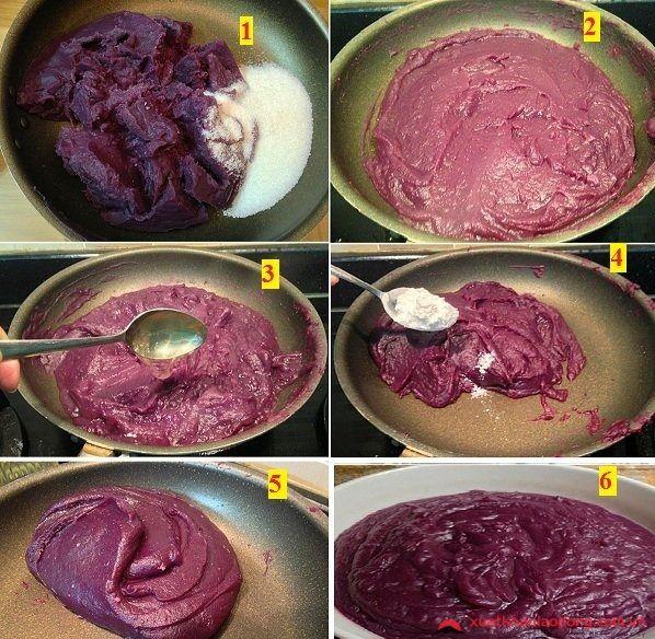cách làm bánh mochi nhật bản