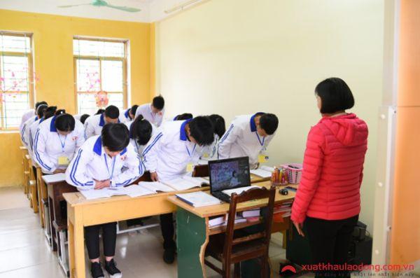 Đào tạo thực tập sinh đi XKLĐ Nhật Bản