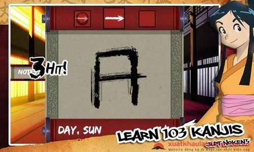 Game học tiếng Nhật Samurai