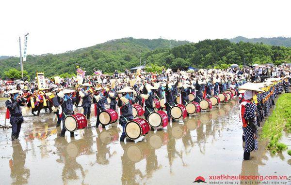 lễ hội ở osaka nhật bản