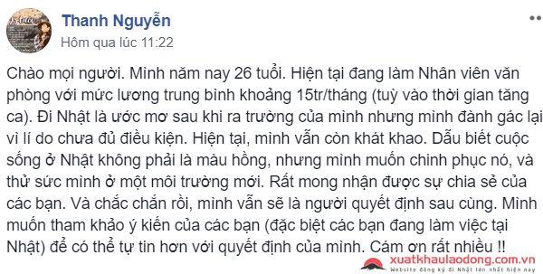 Hỏi đáp: Lương tháng ở Việt Nam 15 triệu có nên đi Nhật không?
