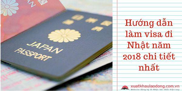 Hướng dẫn làm visa đi Nhật năm 2019 chi tiết nhất