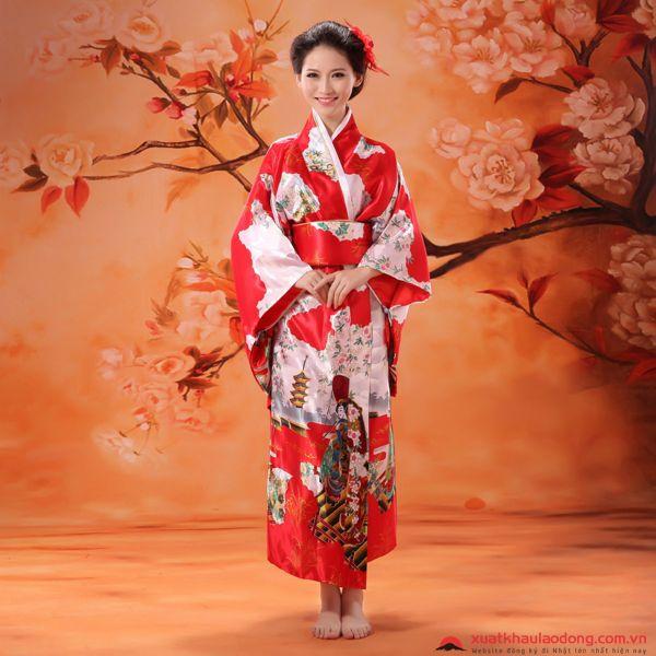 cách mặc kimono