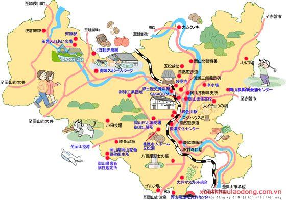 Phân vùng kinh tế Okayama, Nhật Bản