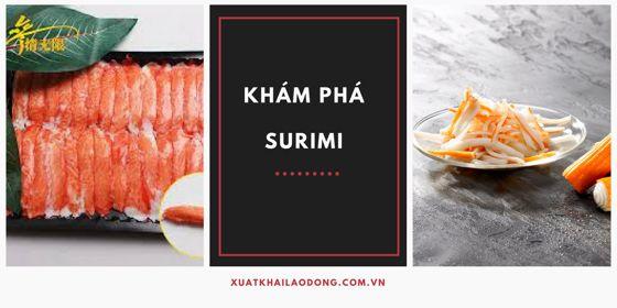 Surimi là gì - Cách làm Surimi ngon nhất - hấp dẫn nhất