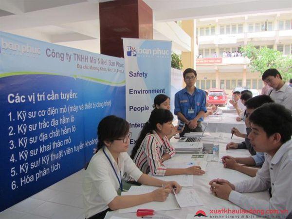 Phối hợp tổ chức hội chợ việc làm cho lao động xuất khẩu sau khi về nước