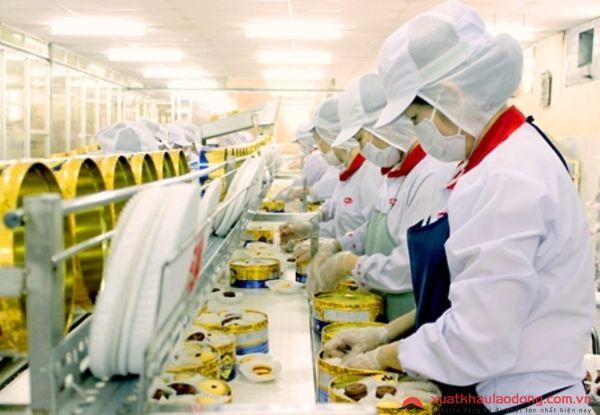 đơn hàng sản xuất bánh kẹo đi nhật