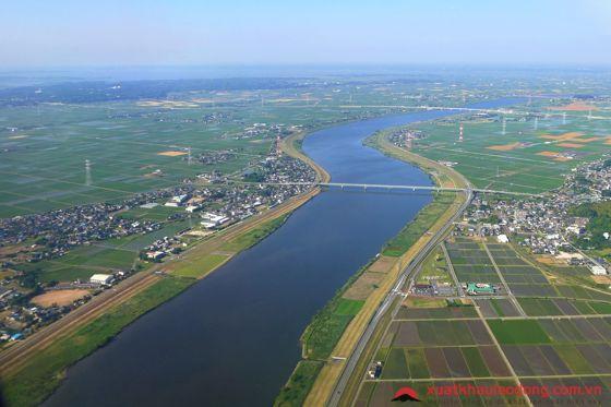 Sông Shinano - dòng sông dài nhất Nhật Bản