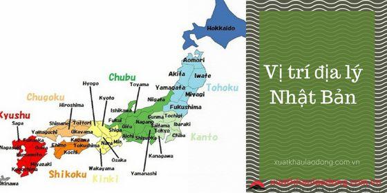 Vị trí địa lý Nhật Bản và những điểm nổi bật nhất