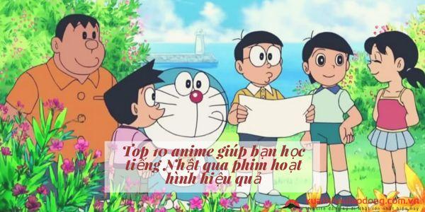 Top 10 anime giúp bạn học tiếng Nhật qua phim hoạt hình hiệu quả nhất