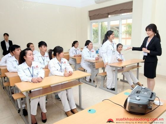 Đào tạo điều dưỡng đi Nhật tại trung tâm