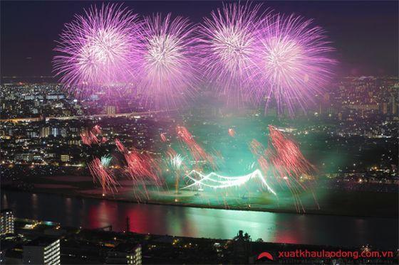 Lễ hội Pháo hoa Edogawa Exciting (Tokyo)