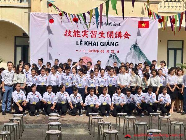 Tổ chức lễ khai giảng cho 60 TTS thi đỗ đơn hàng thủy sản tại TTC Việt Nam