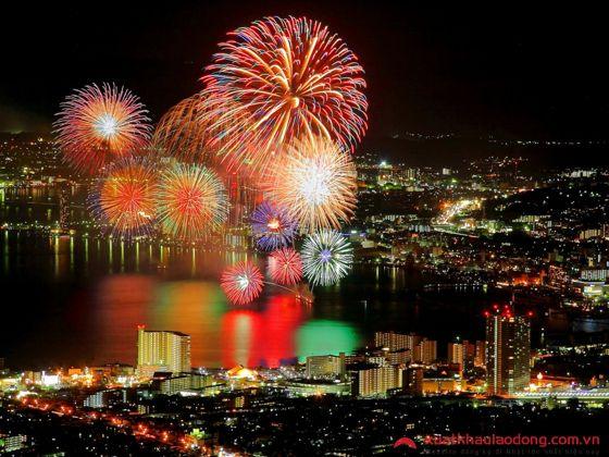 Lễ hội pháo hoa hồ Biwa – Shiga